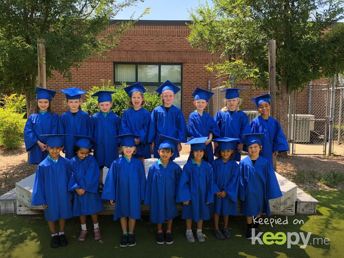 Graduation class from preK to Kindergarten