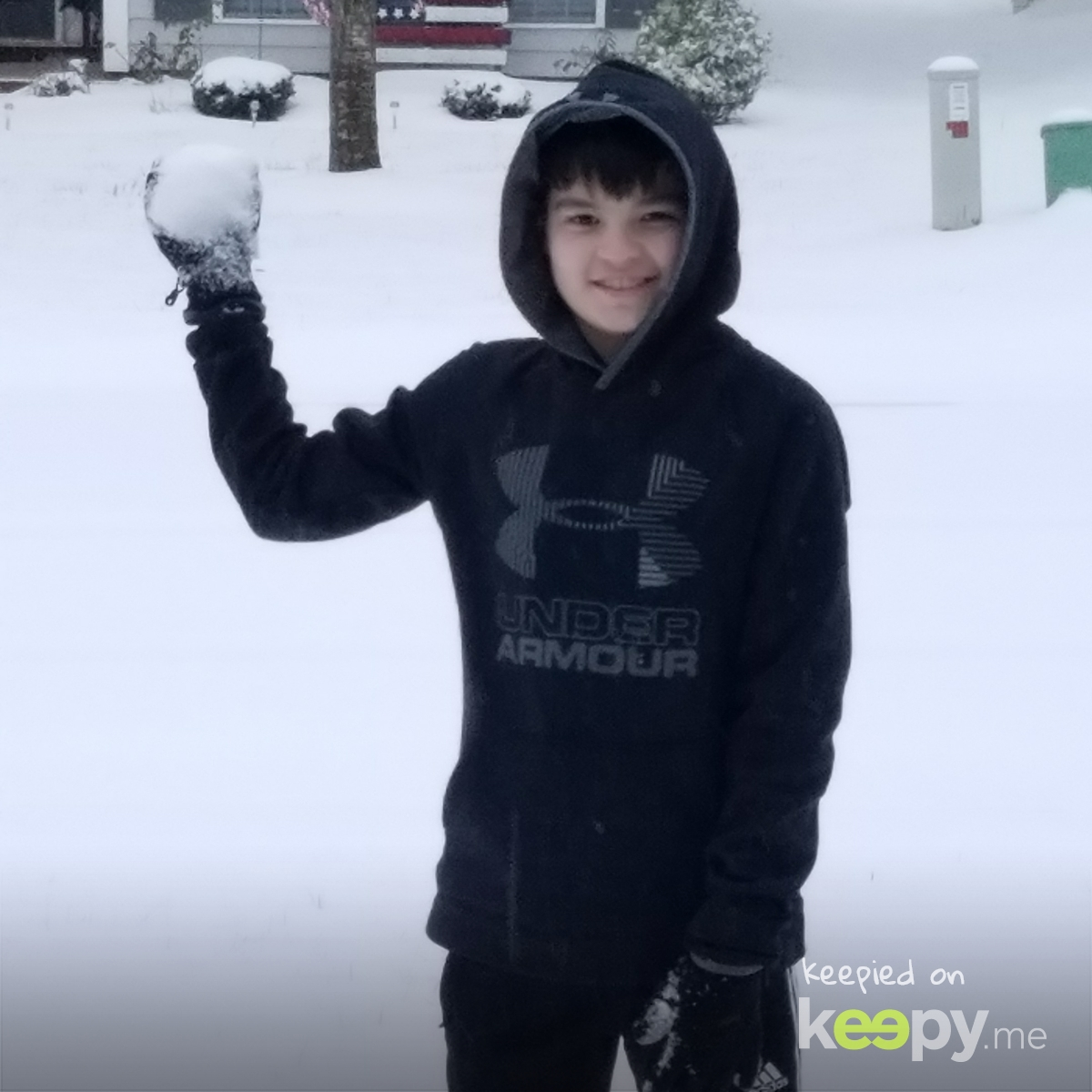 First snowball