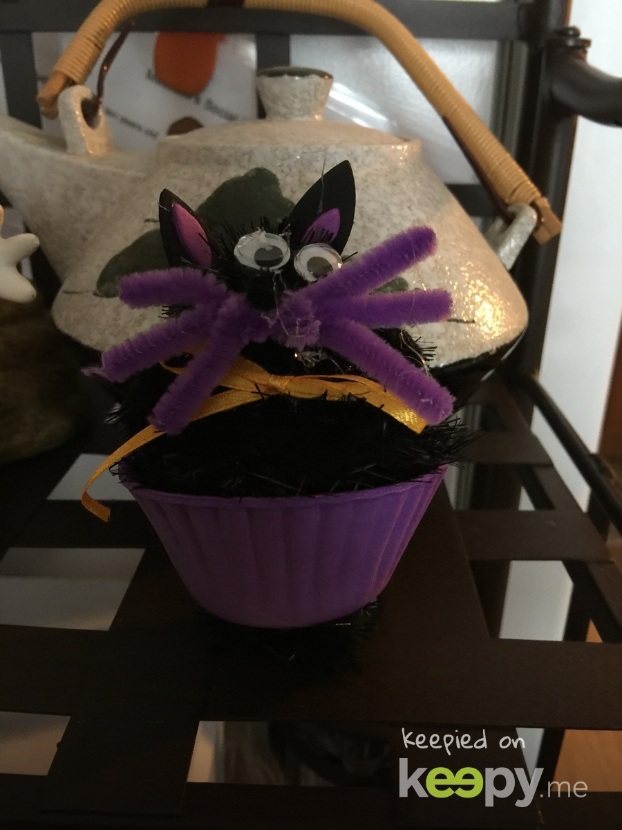 Pom-Pom cupcake cake