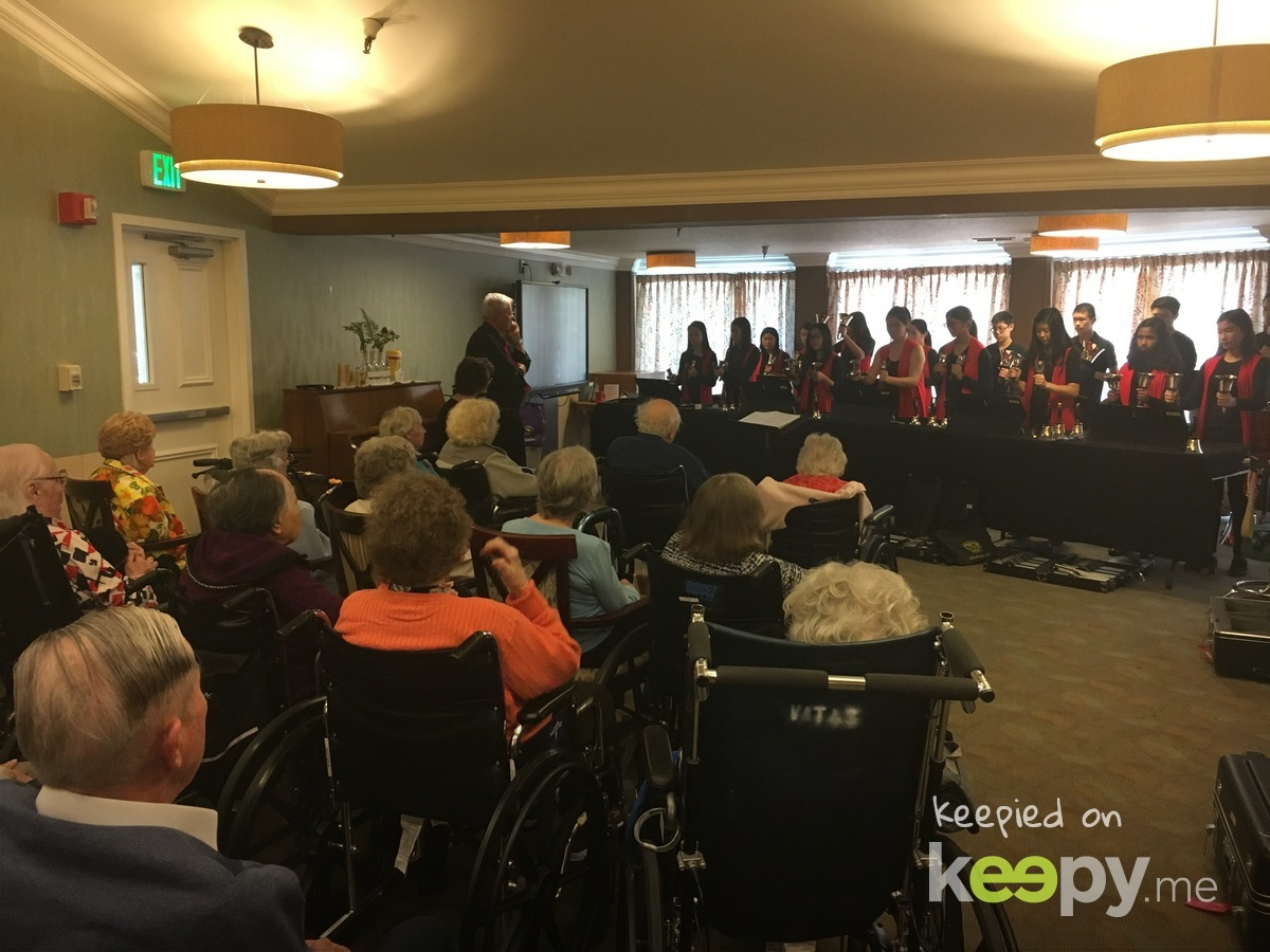 Valley Handbell Academy came to perform in the care center Sunday. The residents and staff loved it! What a treat!