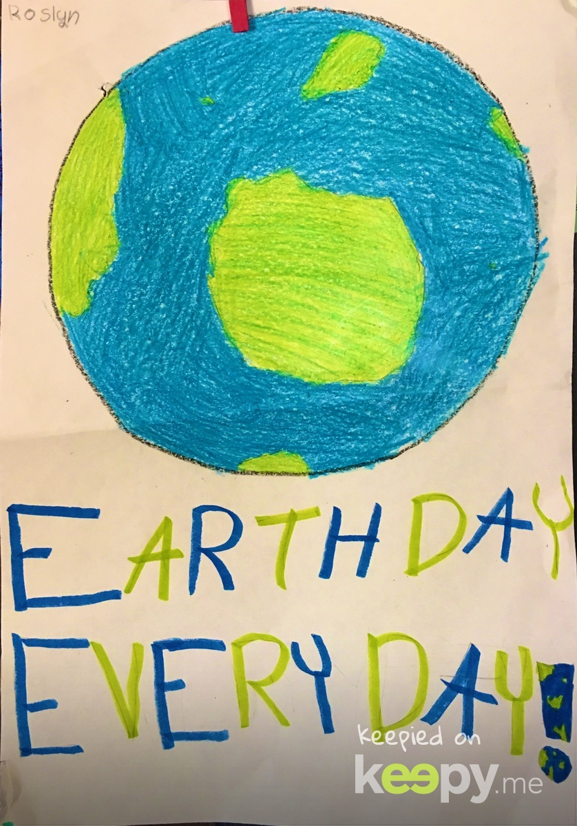 Earth Day Everyday! #RoslynJ