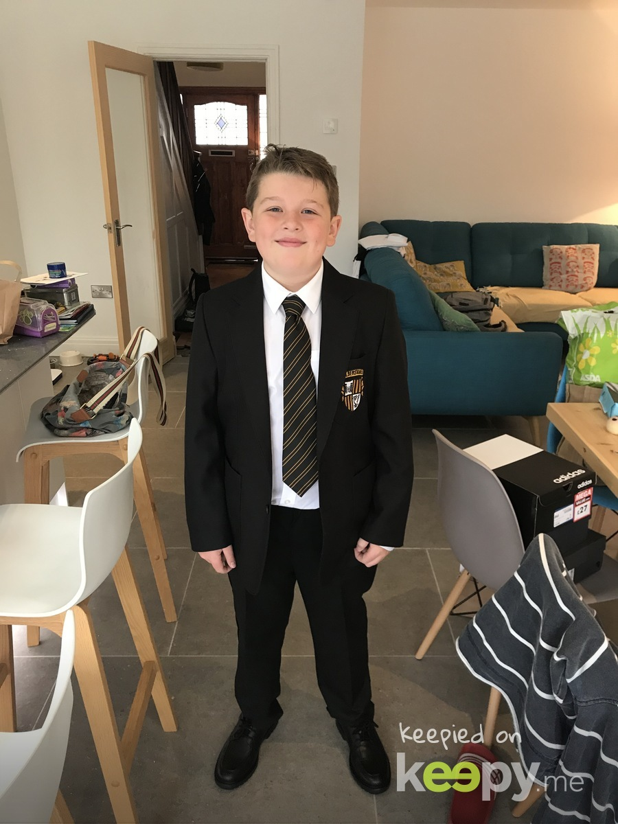 First day at Calderstones