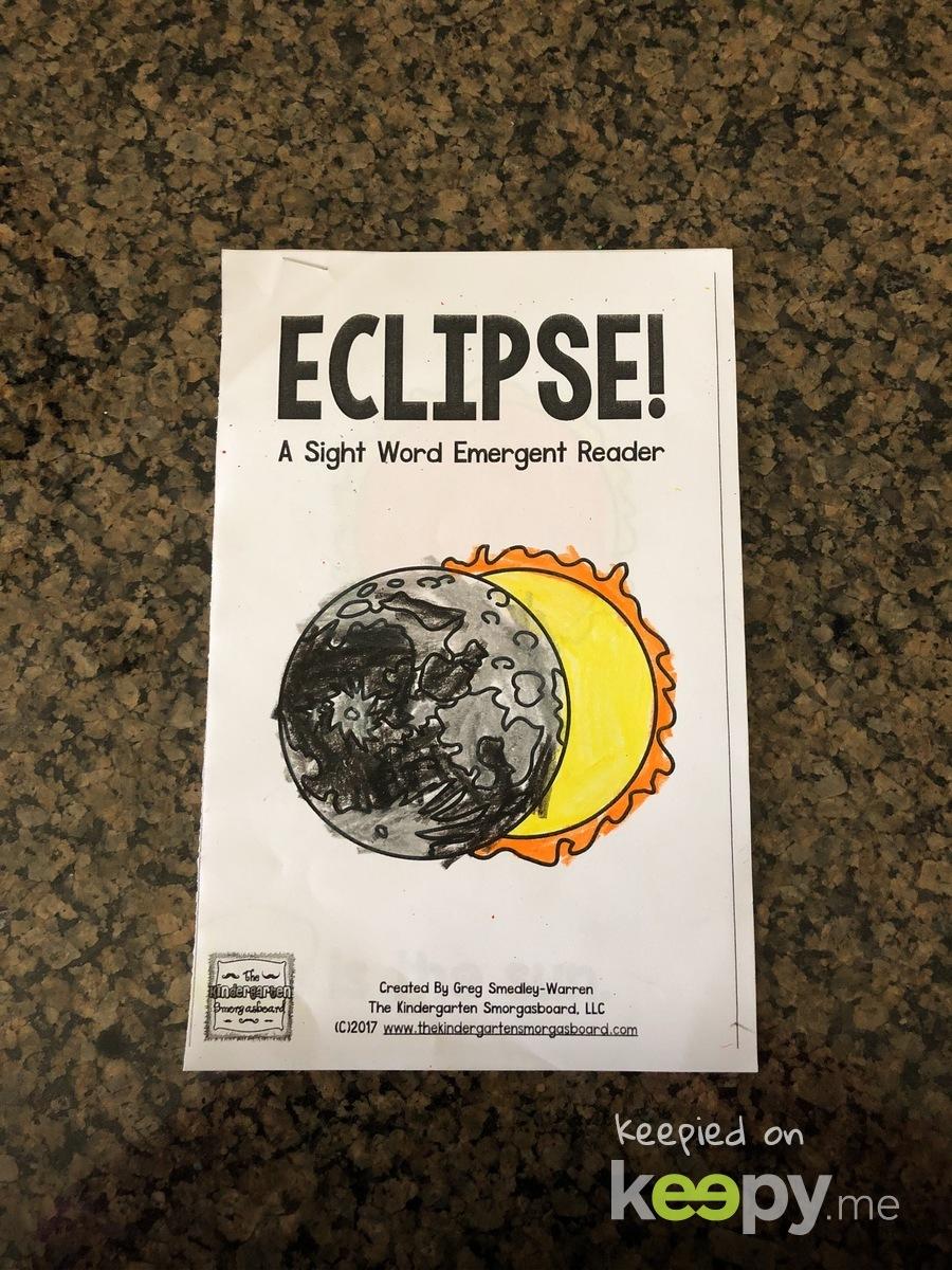 Solar eclipse workbook