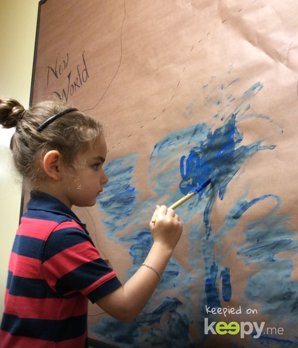 Little artiste!