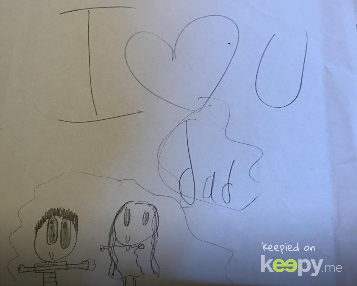 Keepy Card by James