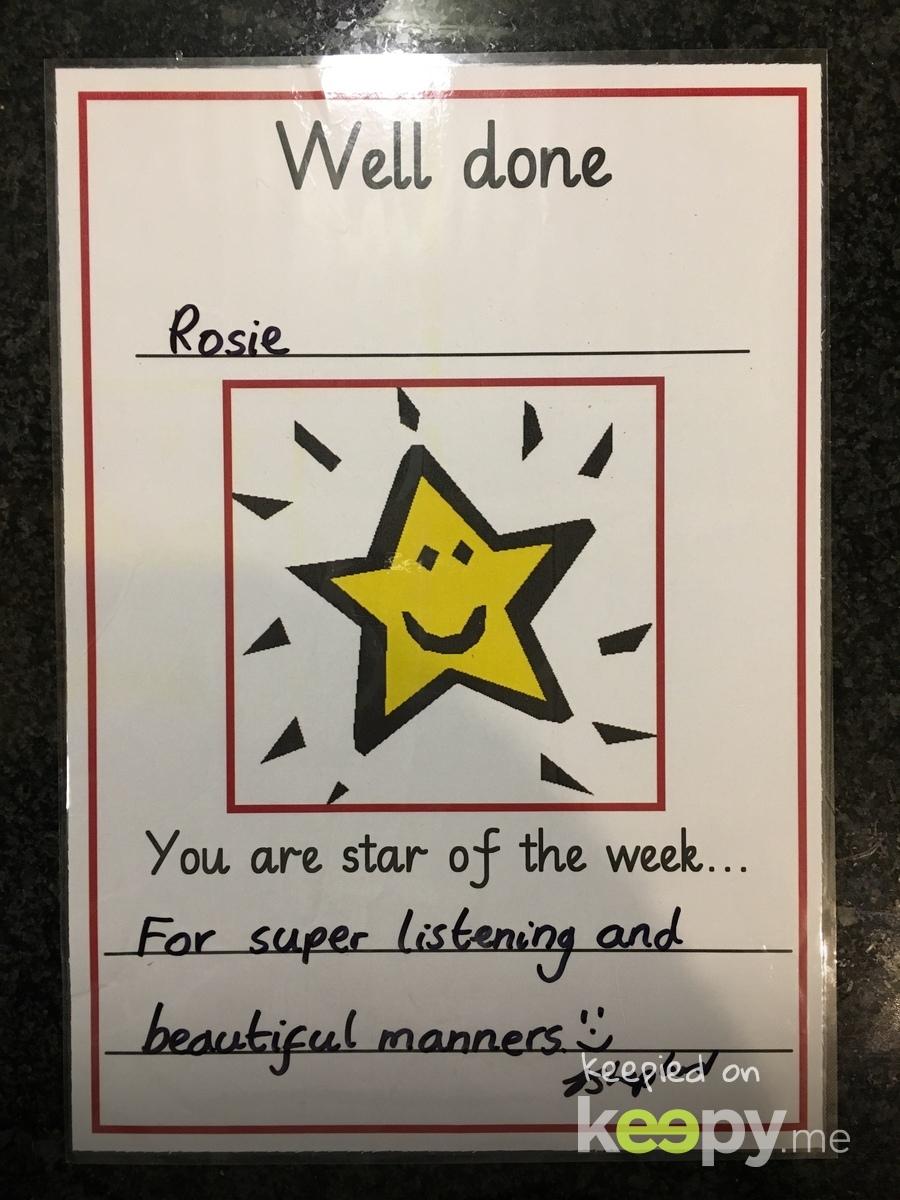 Keepy Card by Rachel