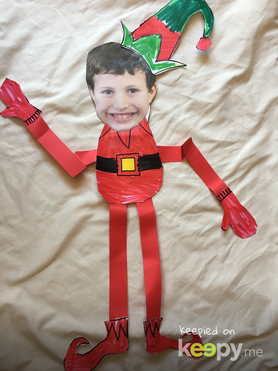 Huddy the Elf!