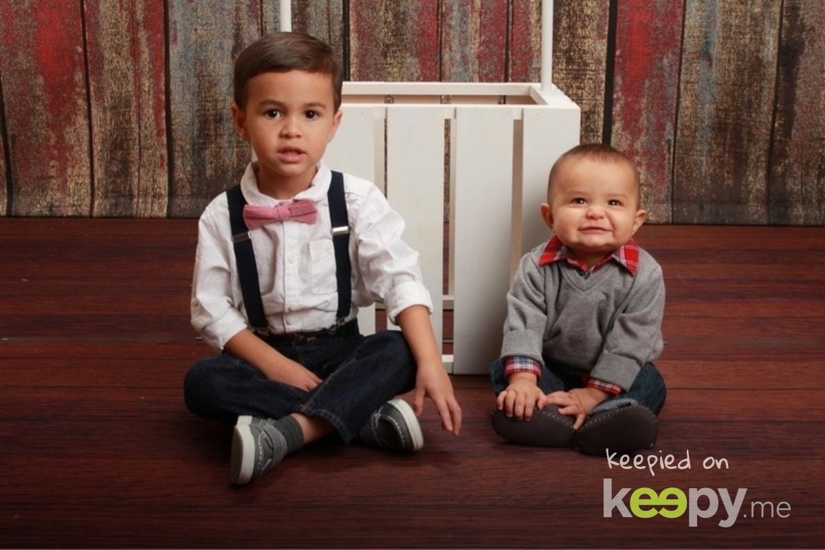Bub's handsome nephews! Can't wait to live close to them!