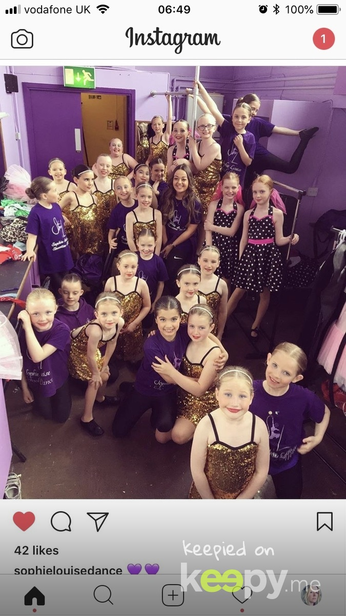 Your dancing show for Miss Sophie's school