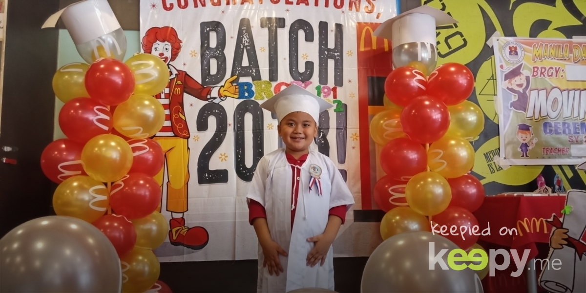 Congratulations,my sweetheart! #4thexcellenceawardee #5morespecialawards #2018March12movingupceremony