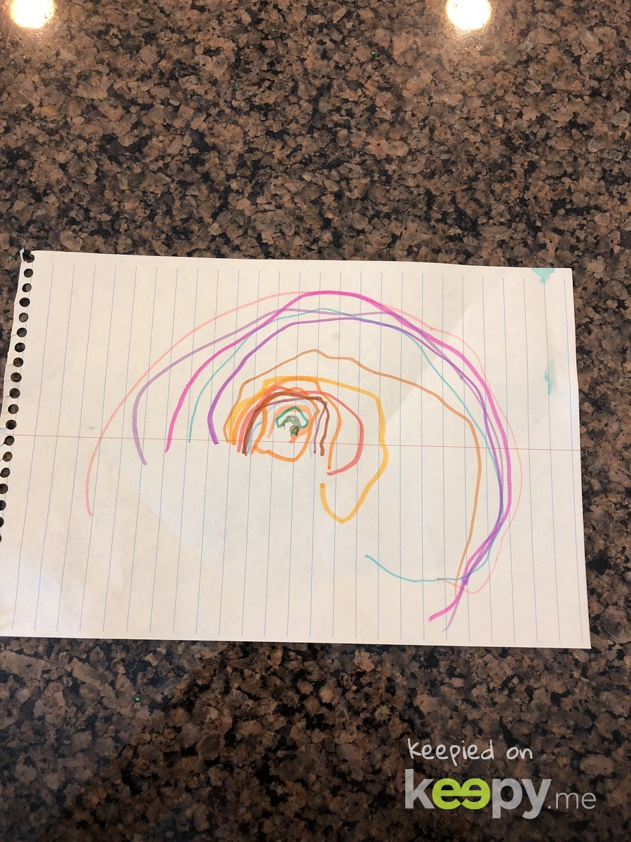 A rainbow for mommy 🌈
