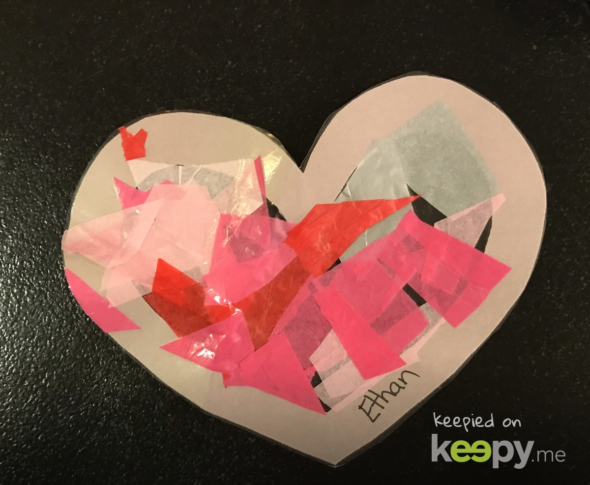 Keepy Card by Robin