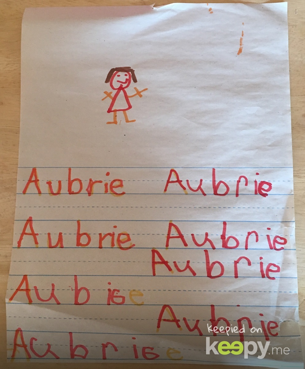 Aubrie 8 Times!