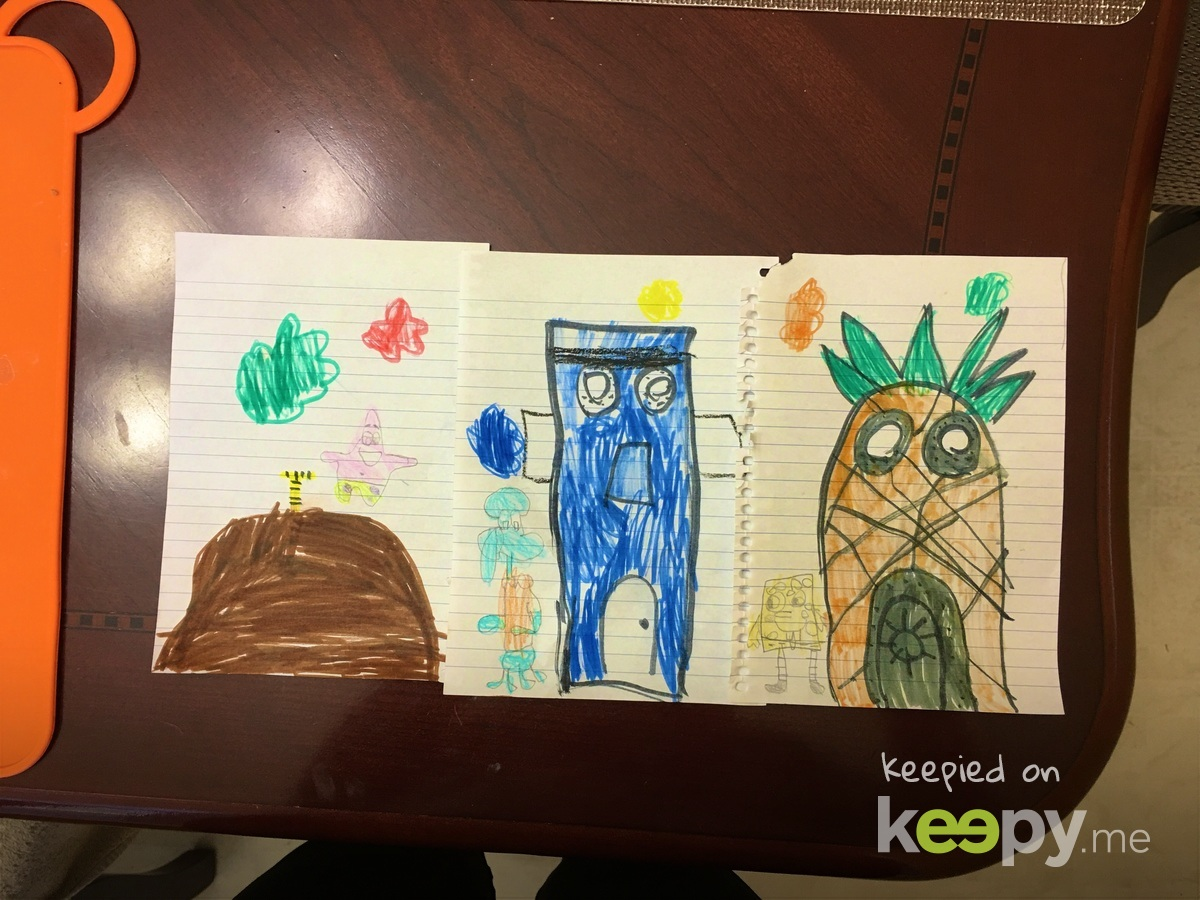 Sponge bob and Friends by Joaquin