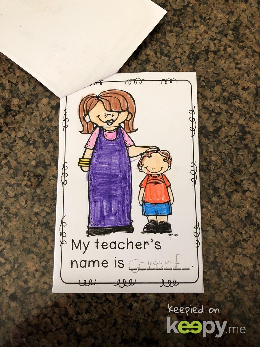 Keepy Card by Becki
