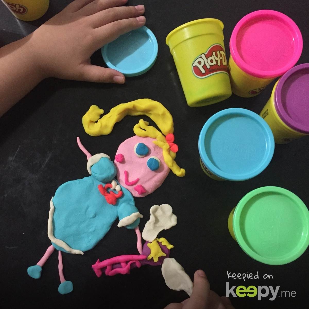 Play-Doh Star