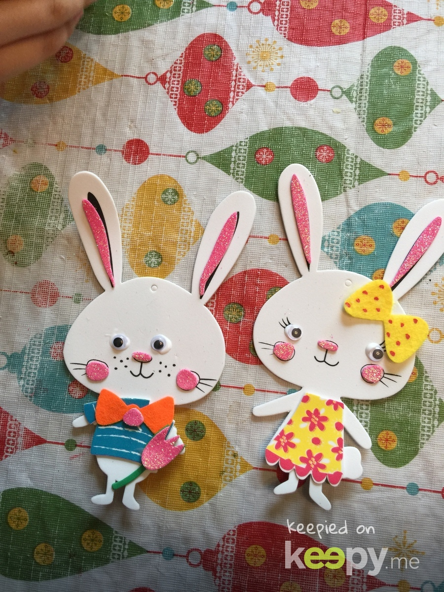 Place cards for Easter dinner