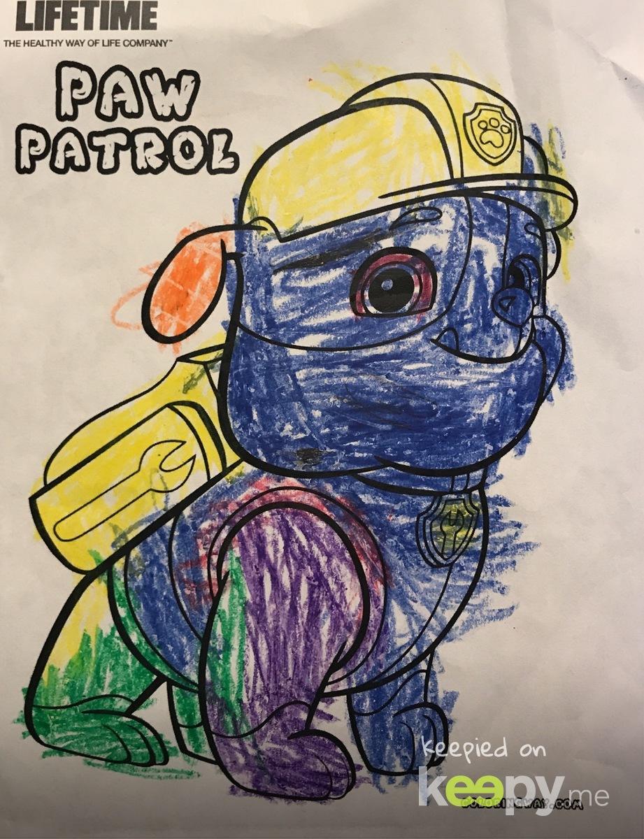 Rocky from Paw Patrol