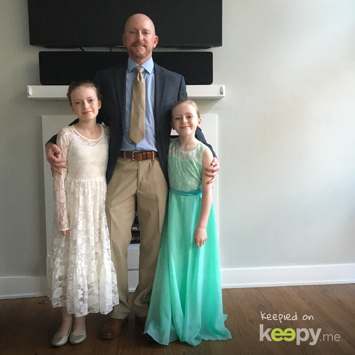 Girl Scout father daughter dance💃🏼👨👧👧