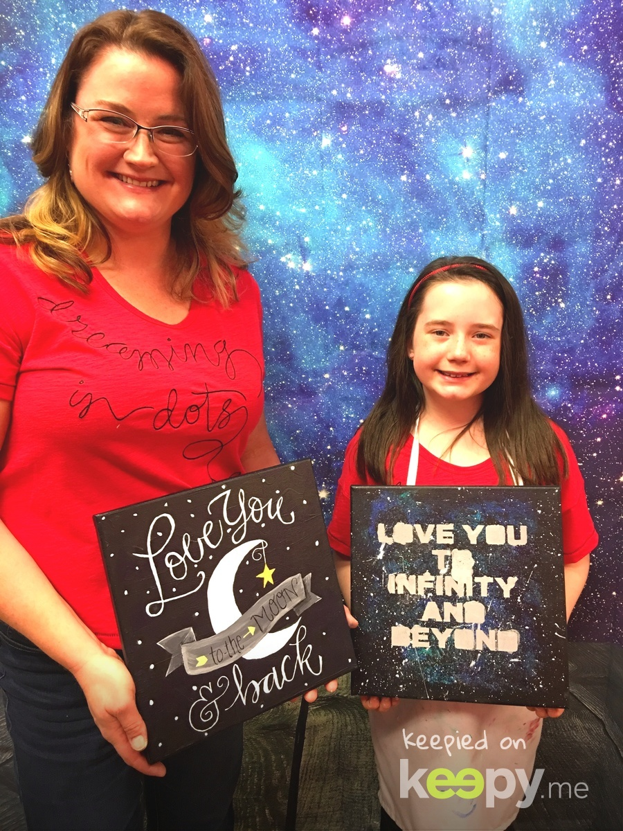 Leader-Daughter Night Out at @MaggieandEllies . I Love You to the Moon and Back was our favorite bedtime book when she was a baby-toddler! #RoslynJ #ilovemygirl » Keepy.me