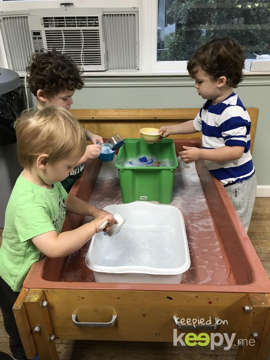 Water table fun!  » Keepy.me