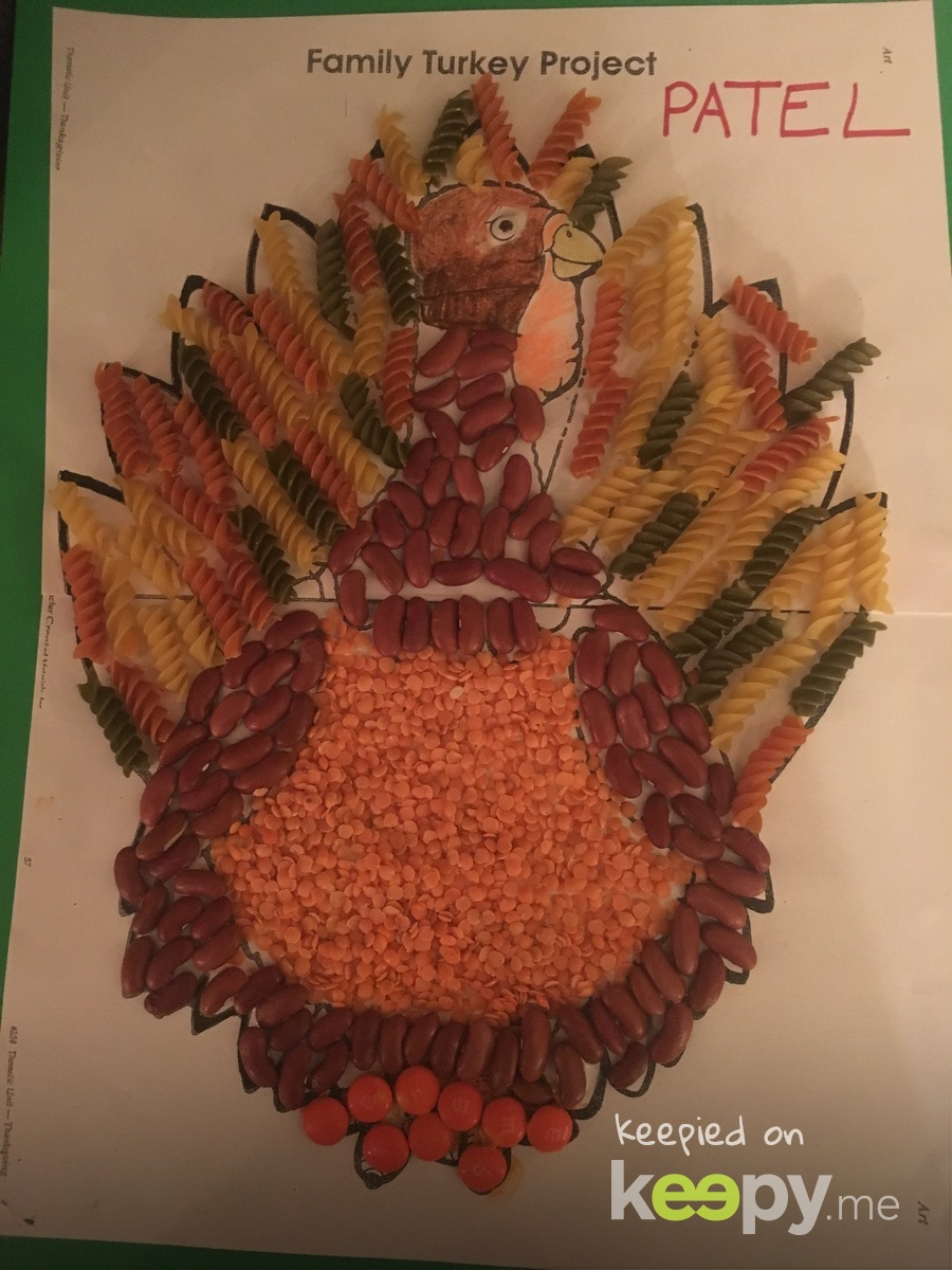 Taylor school family turkey project  » Keepy.me