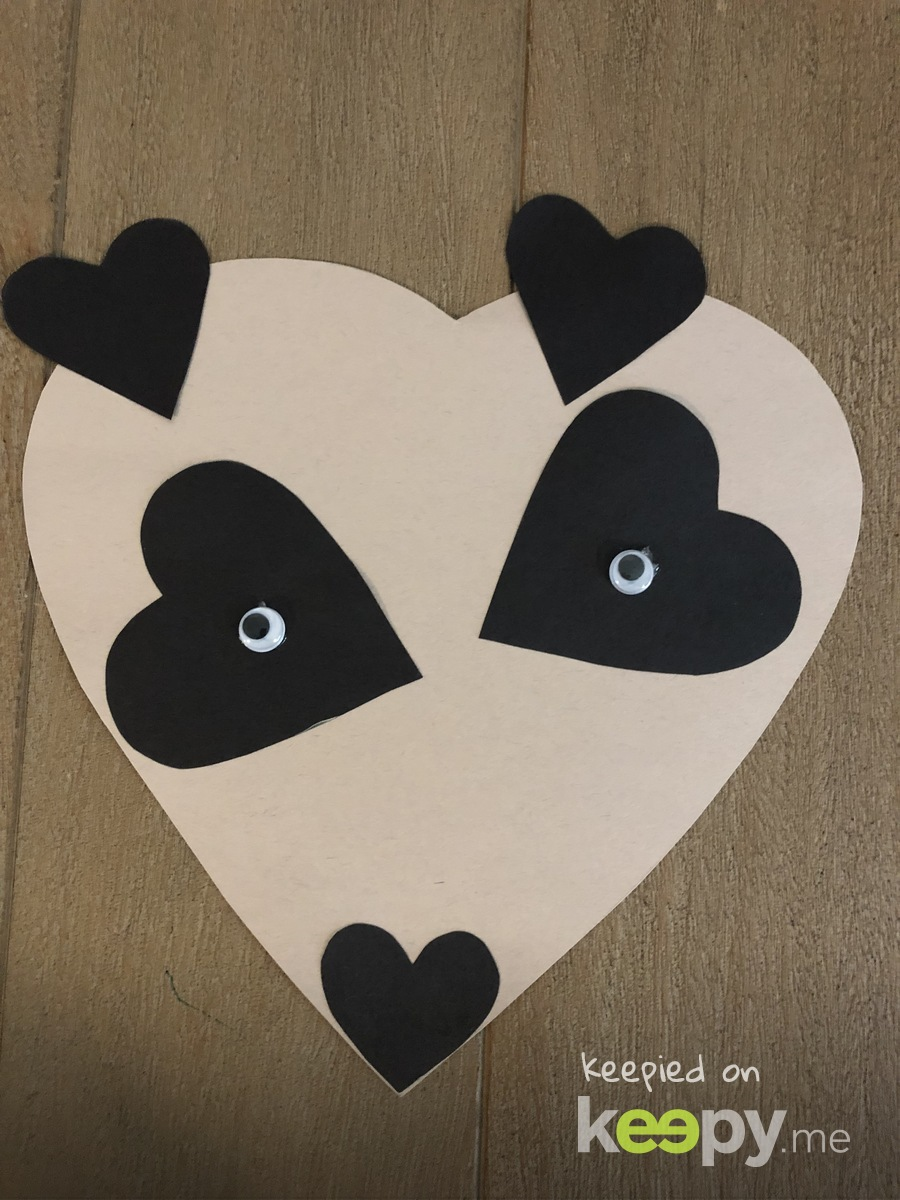 Panda heart  » Keepy.me