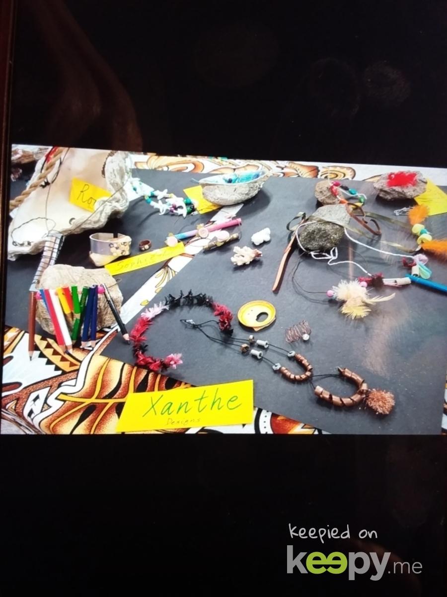 Today's school's expo night, my class made jewellery.  » Keepy.me