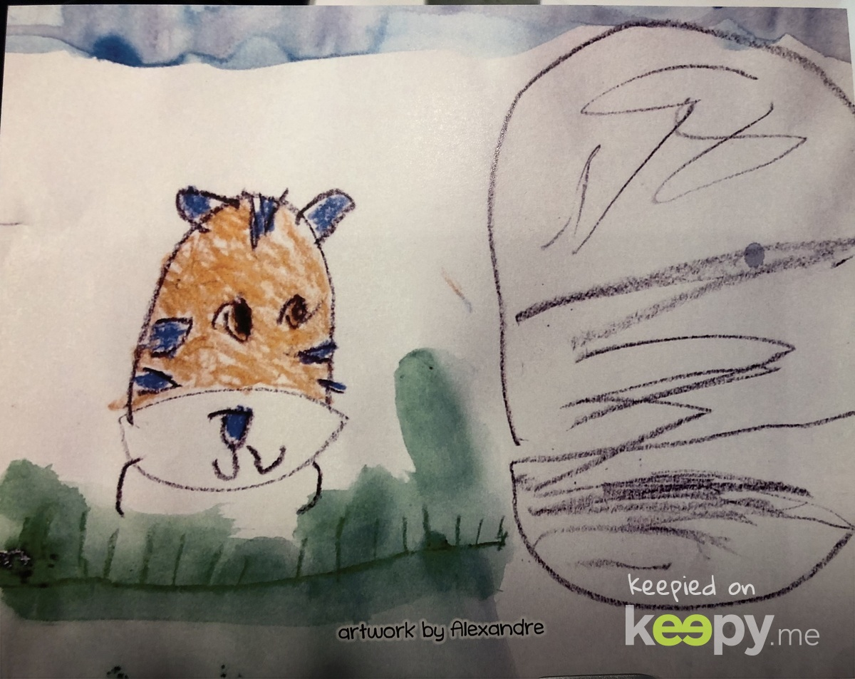 Tiger and cave » Keepy.me