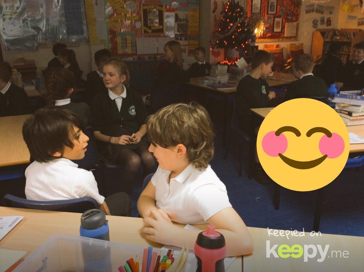 At school with Nikoloz » Keepy.me