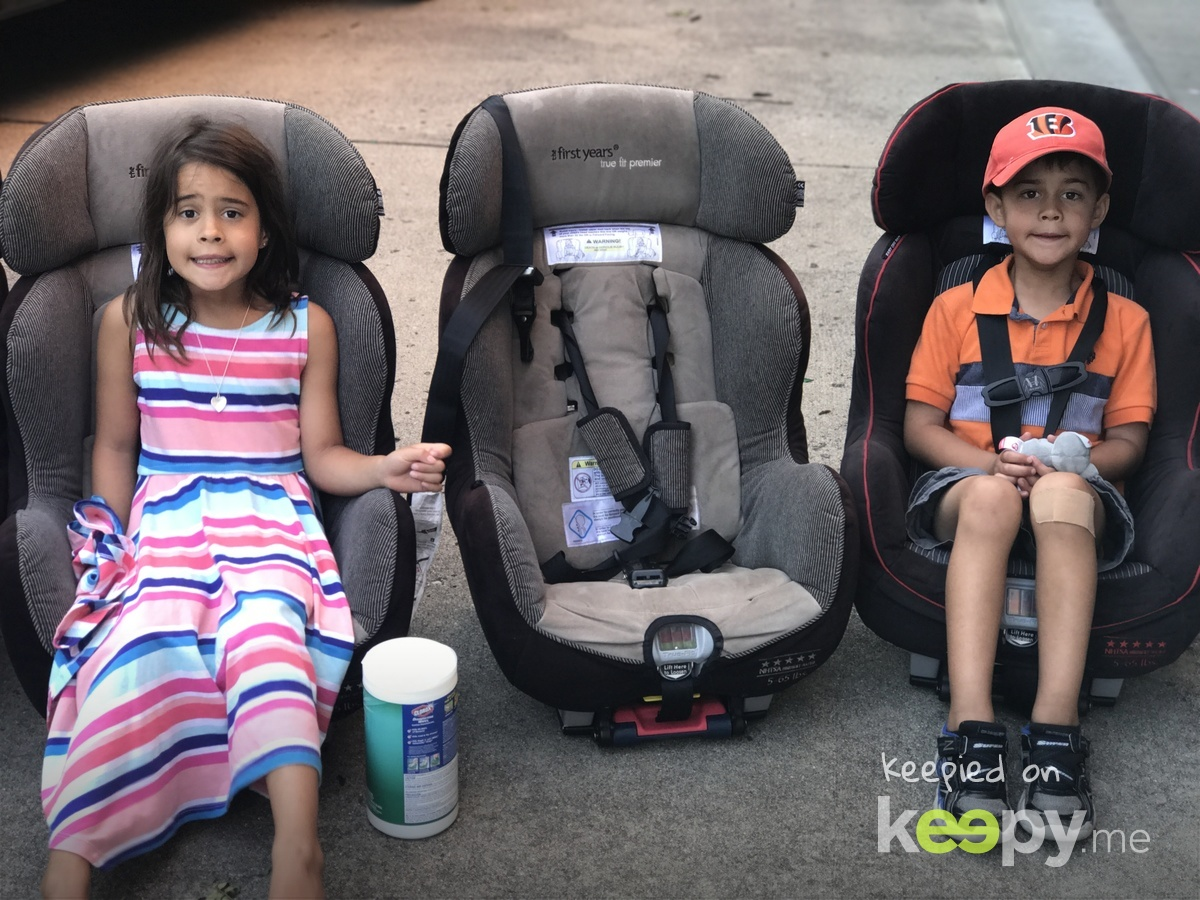 No more car seats!  On to boosters!!! » Keepy.me