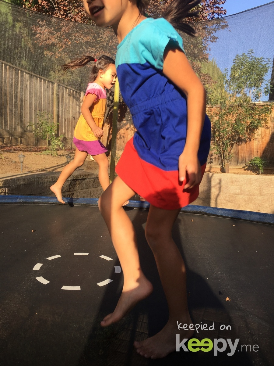 Agnes saved this awesome photo of Audrey Kim H, Madyson Taylor H on Keepy